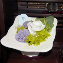プリザーブド花瓶付仏花 SBA-03