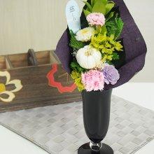 プリザーブド仏花(花瓶付) SBK-09K