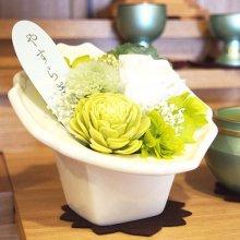 プリザーブド花瓶付仏花 SBA-02
