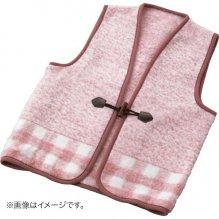 チョッキ ベスト ファッション ジャカード織 アクリルベスト ピンク WAB-301 (30)