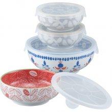 陶器 食器 食器セット ガーデンスタイル レンジパック 4点セット GS-4B (16)