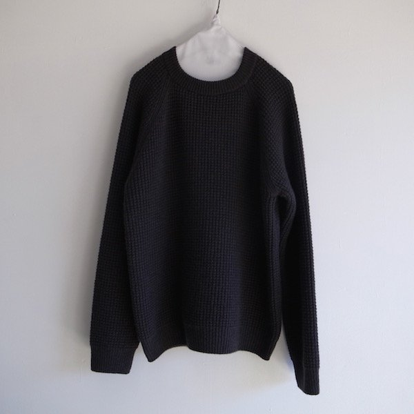 wool camel aze raglan pullover stone gray s k household onlinestore
