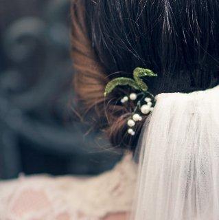 スズランのヘアピン〈Agnes WALKER〉