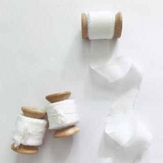 Silk Ribbon [ White ]