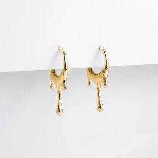 ドリッピングピアス 〈MARIE JUNE Jewelry〉