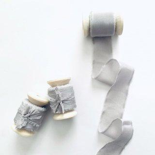 Silk Ribbon [ Light Gray ]