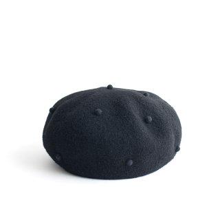Pois E ポイゼ 帽子 CURRANTS BLACK