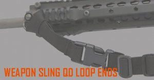UR-TACTICAL OPS WEAPON SLING QD LOOP ENDS