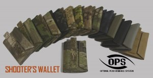 UR-TACTICAL OPS SHOOTER'S WALLET