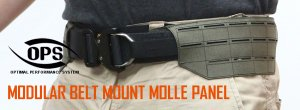 UR-TACTICAL OPS MODULAR BELT MOUNT MOLLE PANEL