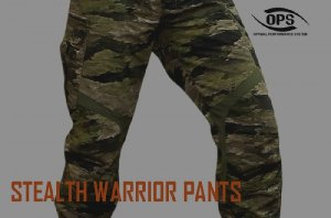UR-TACTICAL OPS STEALTH WARRIOR PANTS