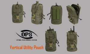 UR-TACTICAL OPS VERTICAL UTILITY POUCH