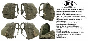 UR-TACTICAL OPS ADVANCED MISSION PACK