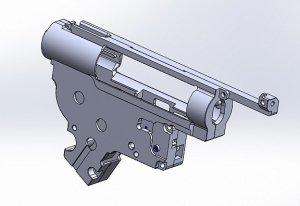CNC gearbox SOPMOD M4 TM (8mm) JP Ver