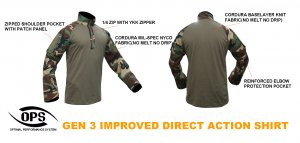 UR-TACTICAL OPS GEN3 IMPROVED DIRECT ACTION SHIRT