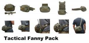 UR-TACTICAL OPS TACTICAL FANNY PACK