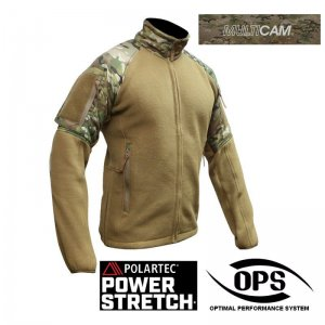 UR-TACTICAL OPS POWER STRETCH® COMBAT FLEECE JACKET