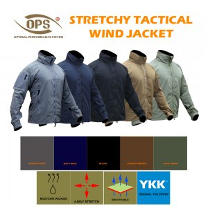 UR-TACTICAL OPS STRETCHY TACTICAL WIND JACKET