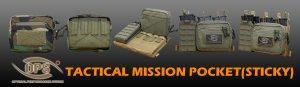UR-TACTICAL OPS TACTICAL MISSION POCKET (STICKY)