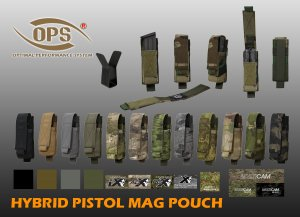 UR-TACTICAL OPS HYBRID PISTOL MAG POUCH