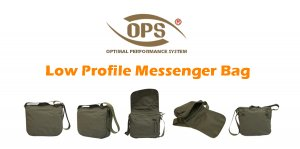 UR-TACTICAL OPS LOW PROFILE MESSENGER BAG