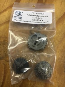 GS-R2-C Cyclone DSG Revolution Gear Set (13.76:1) for V6(トンプソン)/V7 Gearbox