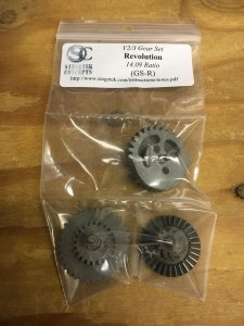 GS-R Revolution (14.09:1) Gear set