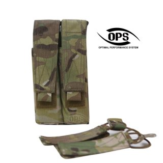 UR-TACTICAL OPS HYBRID DOUBLE SMG MAGAZINE POUCH