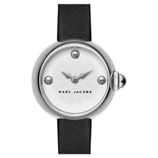 マークジェイコブス 時計 コートニー MJ1430 ホワイト×ブラックレザーベルト