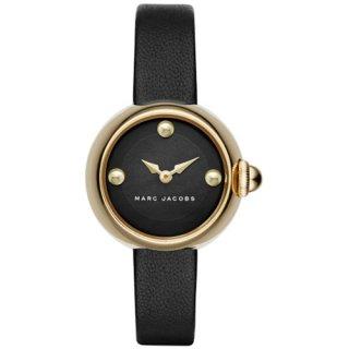 マークジェイコブス 時計 コートニー MJ1432 ブラック×ブラックレザーベルト