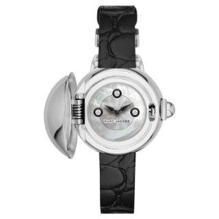 マークジェイコブス 時計 コートニー MJ1435 シルバー×ブラックレザーベルト