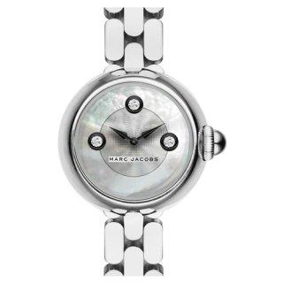 マークジェイコブス 時計 コートニー MJ3459 ホワイトマザーオブパール×スワロフスキー