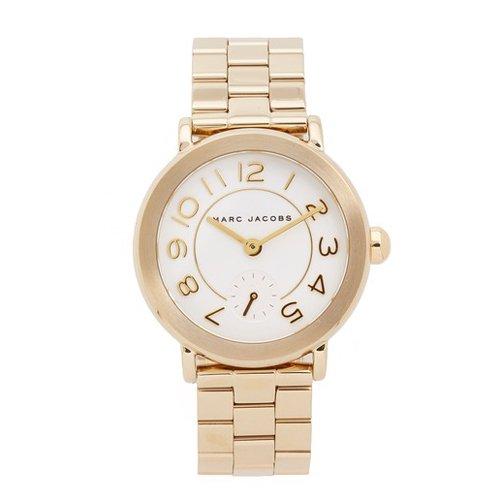 マークジェイコブス 時計 ライリー MJ3470 ホワイト×ゴールド