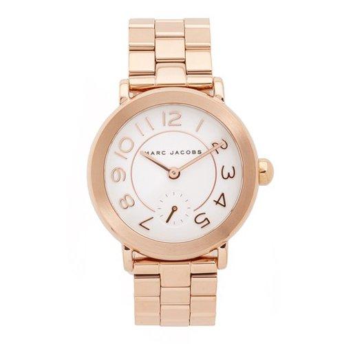 マークジェイコブス 時計 ライリー MJ3471 ホワイト×ローズゴールド