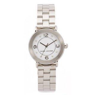 マークジェイコブス 時計/ライリー/MJ3472/ホワイト×シルバー