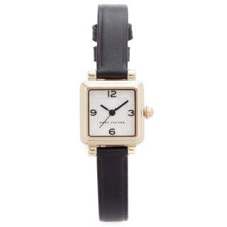 マークジェイコブス 時計/ビック/MJ1545/ホワイト×ブラックレザーベルト