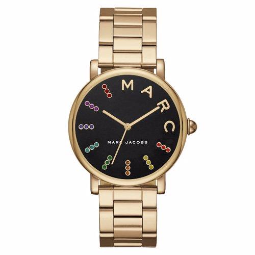マークジェイコブス 時計/MJ3567/クラシックウォッチ/ブラック×ゴールド