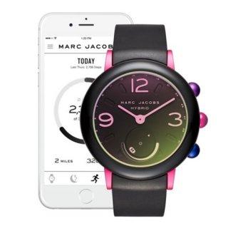 マークジェイコブス/Marc Jacobs/腕時計/レディース/MJT1003/ライリー/スマートウォッチ/ブラック×ブラック