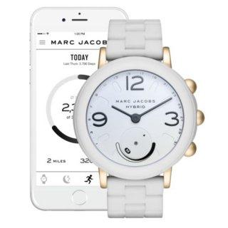 マークジェイコブス/Marc Jacobs/腕時計/レディース/MJT1004/ライリー/スマートウォッチ/ホワイト×ホワイト