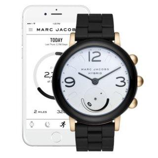 マークジェイコブス/Marc Jacobs/腕時計/レディース/MJT1005/ライリー/スマートウォッチ/ホワイト×ブラック