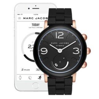 マークジェイコブス/Marc Jacobs/腕時計/レディース/MJT1006/ライリー/スマートウォッチ/ブラック×ブラック