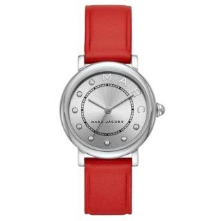 マークジェイコブス/Marc Jacobs/腕時計/レディース/クラシック/CLASSIC/MJ1632/クォーツ/シルバー×レッド/日本未発売モデル
