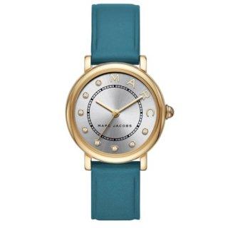 マークジェイコブス/Marc Jacobs/腕時計/レディース/クラシック/CLASSIC/MJ1633/クォーツ/シルバー×ゴールド×グリーン/日本未発売モデル
