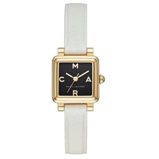 マークジェイコブス/Marc Jacobs/腕時計/レディース/VIC/ビック/MJ1638/クォーツ/20ミリスクエアケース/ブラック×ホワイト/日本未発売モデル