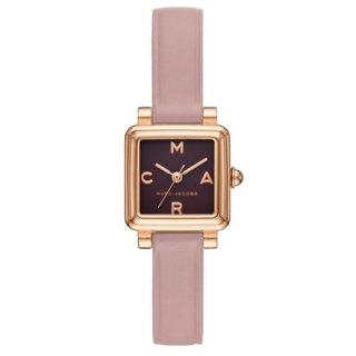 マークジェイコブス/Marc Jacobs/腕時計/レディース/VIC/ビック/MJ1640/クォーツ/20ミリスクエアケース/ブラック×ピンク/日本未発売モデル