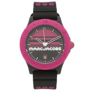 マークジェイコブス/Marc Jacobs/腕時計/HENRY/ヘンリー/MJ1652/ユニセックス/36ミリ/クォーツ/スポーツ/ブラック×ピンク