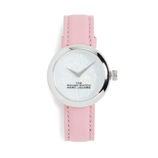 マークジェイコブス/Marc Jacobs/腕時計/レディース/M8000728/ザ ラウンド ウォッチ/ホワイトオパール×ピンク