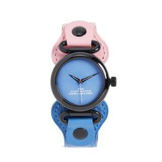 マークジェイコブス/Marc Jacobs/腕時計/レディース/M8000730/ザ カフ ウォッチ/ブルー×ピンク・ブルー