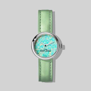 マークジェイコブス/Marc Jacobs/腕時計/レディース/M8000728-312/ザ ラウンド ウォッチ/オパール×ミント