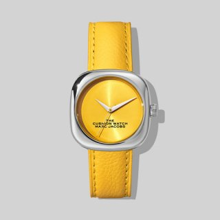 マークジェイコブス/Marc Jacobs/腕時計/レディース/M8000733-702/ザ クッション ウォッチ/イエロー×イエロー